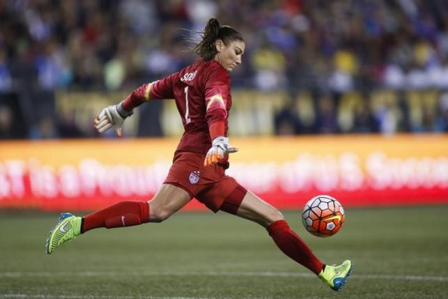 United States goalkeeper Hope Solo is one of the athletes who have spoken out on concerns about Zika in the 2016 Olympics