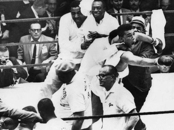After defeating Liston  ( a man many viewed as indestructible) a young Ali really shocked the world at the age of 22