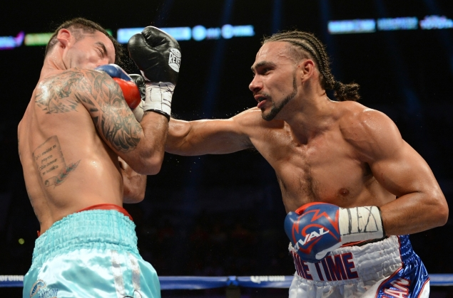 "Although it has been a few fights....""One Time"" power is still very much a concern for opponents facing Keith Thurman"
