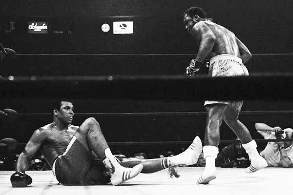 """I had seen Frazier kill many a man with that left hand.  Ali took it and then got up in three seconds"" - Ringside observer at the ""Fight of the Century""  which would see Ali lose for the first time in his career"