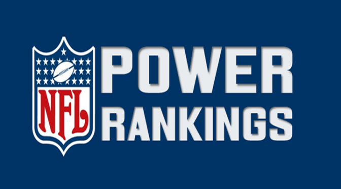 NFL Power Rankings Post Week 3